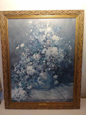 "Pierre Auguste Renoir Oil Painting ""Spring Bouquet"" Reproduction Oil on canvass"