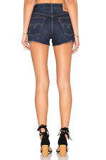 NEW Levi's Levis 501 Wedgie Skinny Cutoff High Rize Short New Size 24