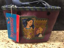 NEW Vintage Disney's Pocahontas PVC Bag Purse Tote with Art Kit