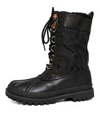 Coach Laura Leather Boot Black Women Sz 6 B 5482 *