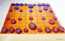 JANGGI (KOREAN CHESS) SPECIALLY COLORED PIECES AND LAMINATED WOOD BOARD (858)