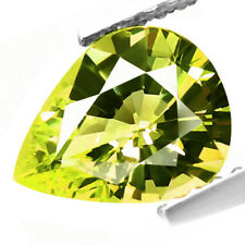2.46ct 100% Natural earth mined alexandrite family yellowish green chrysoberyl