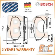 BOSCH FRONT DISC BRAKE PAD SET VW AUDI OEM 0986494042 8E0698151M