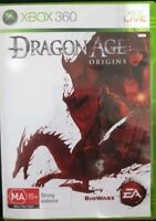 DRAGON AGE ORIGINS -Xbox 360 With Manual