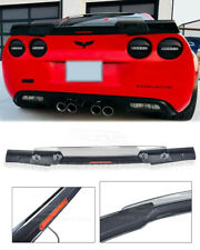 05-13 Corvette C6 | Rear Carbon Flash Spoiler C6.5 style Light Tinted Wickerbill