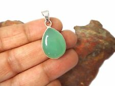CHALCEDONY  Sterling  Silver  925 Gemstone  PENDANT - Gift Boxed!