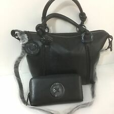 Mimco SUPERNATURAL Mini TOTE Hand Bag BNWT RRP $399 MATCHING WALLET BLACK