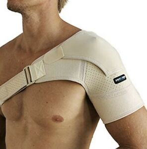 Zenkeyz Active Living Shoulder Brace for Torn Rotator Cuff Support New, Sz S/M