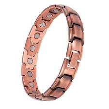Pure Copper Magnet Bracelets women Arthritis Joint Pain Relief Energy Stress