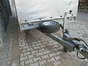 Reserveradhalter für den Anhänger Ersatzradhalterung Reserverad Befestigung