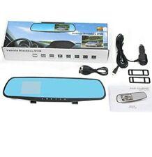HD 1080P 4.3 inch Dual Lens Car DVR Rear View Mirror Dash Cam Video Camera