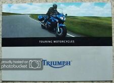 TRIUMPH TOURING MOTORCYCLES Sales Brochure 2000 #T3864553 Tiger SPRINT ST TROPHY