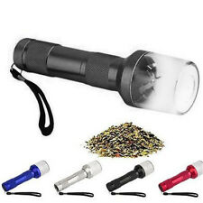 Aluminum Electronic Battery Operated Herbs/Spices/Tobacco Grinder Crusher Black