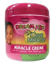 African Pride Dream Kids Olive Miracle Creme Anti Breakage Hair Strengthener 170