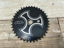 Black Redline Sprocket 39T Mid School BMX