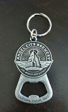ANGEL CITY Brewery Metal BEER Key Chain Bottle Opener - Los Angeles, CA NEW!!