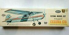 "Vintage Guillows Cessna 170 Flying Model Kit  302 24"" Wing Span"