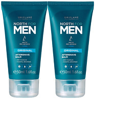 Oriflame North for Men Original Aftershave Balm 50ml x 2 (Pack of 2)