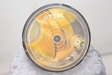 TDK DVD + R  Lightscribe 10psc Cake Box 10psc