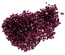Genuine Marquise Ruby Gemstones, 23.61cts Parcel, 3x1.5mm-5x3mm Sizes Nice Color