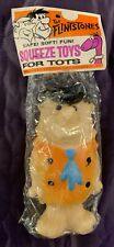 FRED FLINTSTONE  SQUEEZE TOY  SEALED  EASTERN MOULDED PRODUCTS  C. 1967