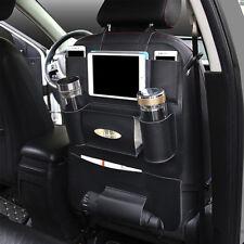 Car Seat Back Multi-Pocket PU Leather Storage Bag Organizer Holder Accessory New