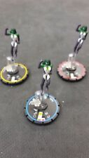 DC Heroclix - Legacy - Jade - Complete REV Set - Includes three figs