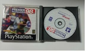 PREMIER MANAGER 98 - SONY PS1 -  PAL version