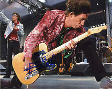 REPRINT - KEITH RICHARDS 2 Rolling Stones autographed signed photo