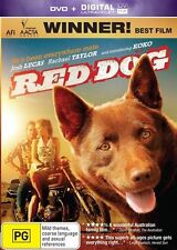 Red Dog : DVD + ULTRAVIOLET, NEW AND SEALED, FREE POST WITHIN AUSTRALIA