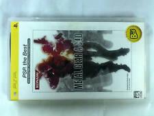 PSP GAME METAL GEAR ACID best vesrion (ORIGINAL USED)