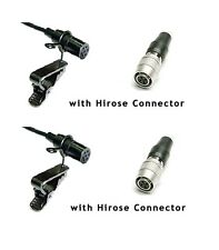 2pcs Pro Lavalier Lapel Mic for Audio Technica Wireless Microphone Systems ATW