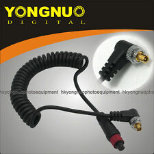 YONGNUO Flash PC Sync Cable with PC Male Connector for RF-602 Flash Trigger
