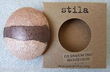 "Stila Eyeshadow Trio Refill in ""Bronze Glow"" - Bronze Champagne & Brown Shimmers"