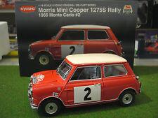 MORRIS MINI COOPER 1275S RALLY MONTE CARLO #2 DE 1966 ROUGE 1/18 KYOSHO 08102C
