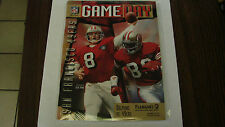 Miami Dolphins Nov 20 1995 VS 49ers Game Day Magzine Steve Young & Rice on cover