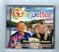 CD (NEUF) DISQUE D'OR DES GUINGUETTES ZINZIN & EMILIE BONNET