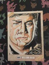 The Walking Dead Season 7 Eugene Sketch Card Marcia Dye Topps