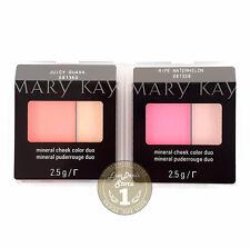 Mary Kay Mineral Cheek Color Duo VARIOUS SHADES, 0.8oz./2.5g.,NEW, FRESH!!!
