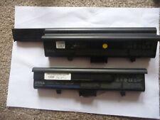 2 x GENUINE DELL XPS M1330 laptop batteries 1 x PU556 85WH & 1 x WR050 56WH