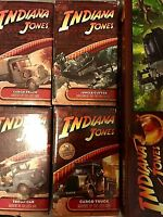 Indiana Jones™ COMPLETE COLLECTION Convoy Vehicle Set RARE RETIRED Hasbro Series
