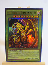 ~PROXY~ Orica Custom The Winged Dragon of Ra (Anime Effect) Ultra Rare God