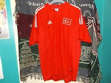 ADIDAS TURKEY FOOTBALL SHIRT - SIZE XL - USED