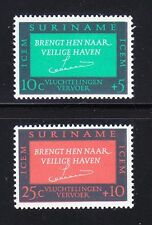 Surinam 1966 MNH Sc B120-121 Committee for European Migration.ICEM