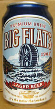 BIG FLATS BEER aluminum CAN with WATERWHEEL, (Genesee), Rochester, NEW YORK gd.1
