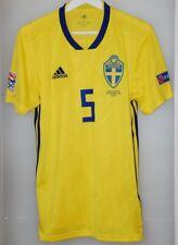 Match worn shirt Sweden national team Nations league England Norwich Blackburn