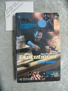 Time Bomb - Don Pendleton Mack Bolan #322 executioner OzSellerFasterPost!