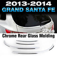Chrome Rear Glass Molding Garnish 5 Passenger K-874 for Hyundai Santa Fe 2013~18