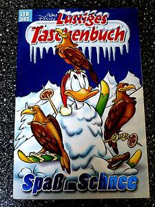 """Walt Disney Lustiges Taschenbuch LTB 345 """" Spass im Schnee""""  sehr gut"""
