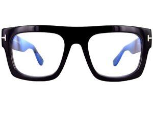 New Tom Ford Fausto eyeglasses frame 5634 black 53mm